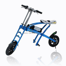 2015 High quality and newly designed 36v lithium battery folding electric bike