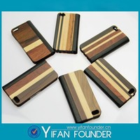 Factory wholesale wood phone case for iphone 5s, leather case for iphone6s, phone case for iphone 5s with 3d flip effect