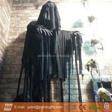 halloween nero volante reaper fantasma con illuminano gli occhi per la decorazione del giardino