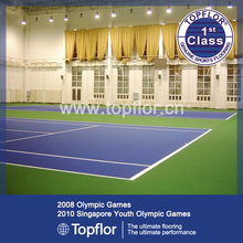 Portátil pista de tenis alfombra / equipo de tenis