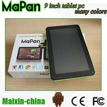 1.4ghz google android system/8gb rom tablet, 9 inch android tablet pc