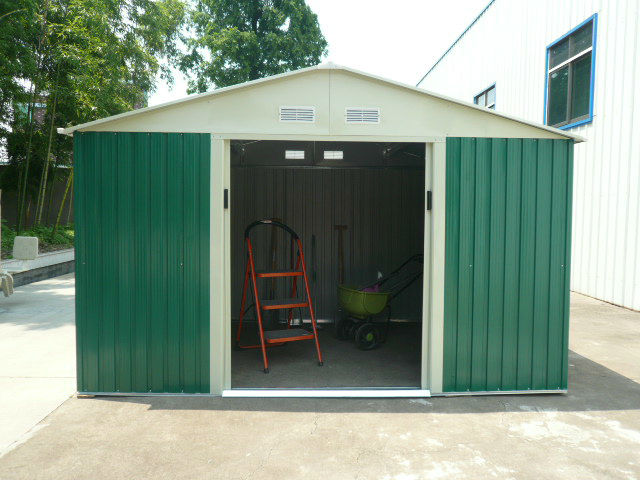 10x12ft cream garden used commerical metal shed buy