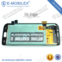 [E-MobileX] all china mobile phone models Original Lcd Touch Screen For Samsung Galaxy S6 Edge Lcd And Touch Screen Assembly