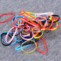 colourful mini elastic rubber hair bands