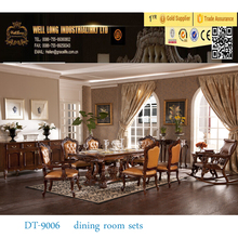 classic wooden dining room furniture set