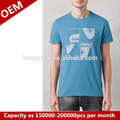 branco atacado impressão personalizado impresso camiseta bulk comprar roupa do fabricante de china