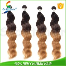 2015 NEW Body Wave ombre darling hair extension for kids