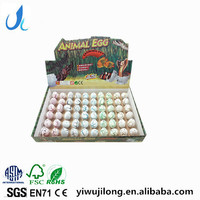 small white dinosaur eggs expanding with water toys dinosaur hatching growing toys