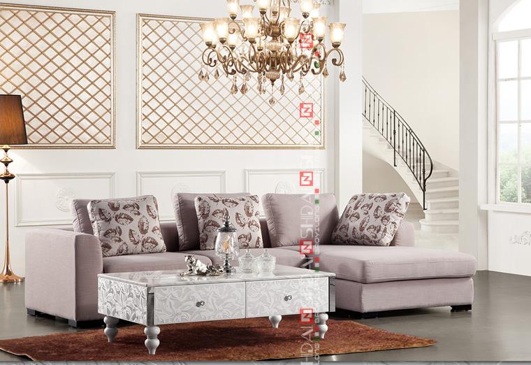 Pequeño sofá de la esquina / sofá muebles juego de sala / sala de ...