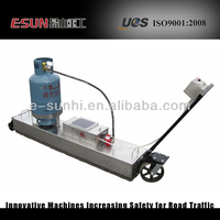 asphalt infrared restoration equipment CLYJ-LB1*4