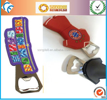 hot sale customized pvc bottle openers