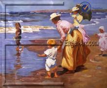 $20.80 size 80x60cm Wholesale Contemporary canvas beach oil painting