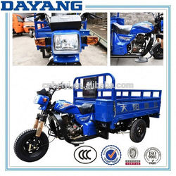 best selling gasoline ccc three wheel cargo motorcycles made in china with good quality