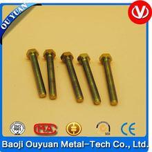 case hardening titanium bolts