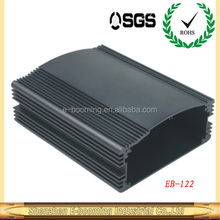 Hot sale aluminum extruded profile enclosure 128x56mm(W*H) for truck bus taxi monitor