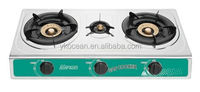 Gas stove 3 burner for rice cooker kitchenware household use