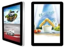 """42""""LCD advertising touch display, SAW dual touch screen, big size solution"""