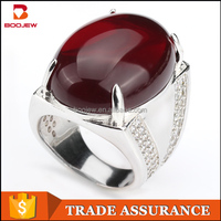 Male ring fashion jewelry manufacturing custom ring crystal jewelry design silver ring casting sell like hot cakes