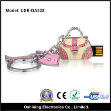 Fashion gift Bag USB, Jewelry Handbag USB Flash, USB Stick With Lower Price(USB-DA322)
