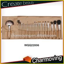2014 Best Seller Professional 22 pcs Beauty Brushes/ Professional Make Up Brush Set In PU Bag