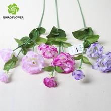 Purple color factory price artificial flower wedding decoration