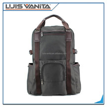 Fashionable Grey laptop bags,durable backpack laptop bags