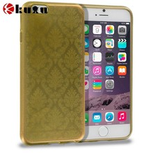 New arrival Gold TPU Damask Designer Luxury Rubber Skin Case Cover for Apple iPhone, factory price cell phone holster