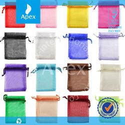 wholesale drawstring wedding gift organza bag