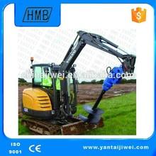 Perforadora hidráulica de tierra de gran calidad de fabricación china 2014
