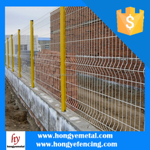 PVC Coated Welded Wire Fence,Welded Curved Fence, Wire Panel Fencing (Manufacture)