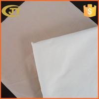 polyester cotton 65/35 133x72 white dyeing workwear fabric textile