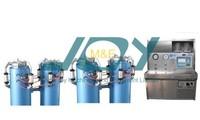 Water jacket hydrostatic testing machine
