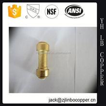 taizhou guangbo Male brass geka coupling with NBR Rubber Seal
