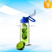BPA free 700 ml plastic fruit infuser water bottle