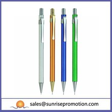Popular wholesale slim metal click pen stationary
