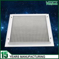 aluminum decorative return egg crate ceiling diffuser
