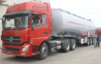 3 axle 50000 liters fuel tanker trailer