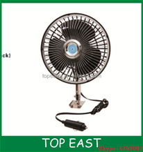 "6"" inch dc 12v car mini car fan with cigarette plug"