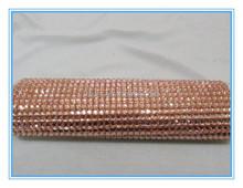 shiny glass flatback hotfix rhinestones mesh clothes shoes bag accessory