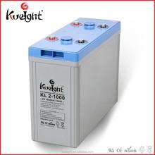 Kweight KL series Long life 2V battery 1000Ah 2000Ah High capacity battery Manufacture