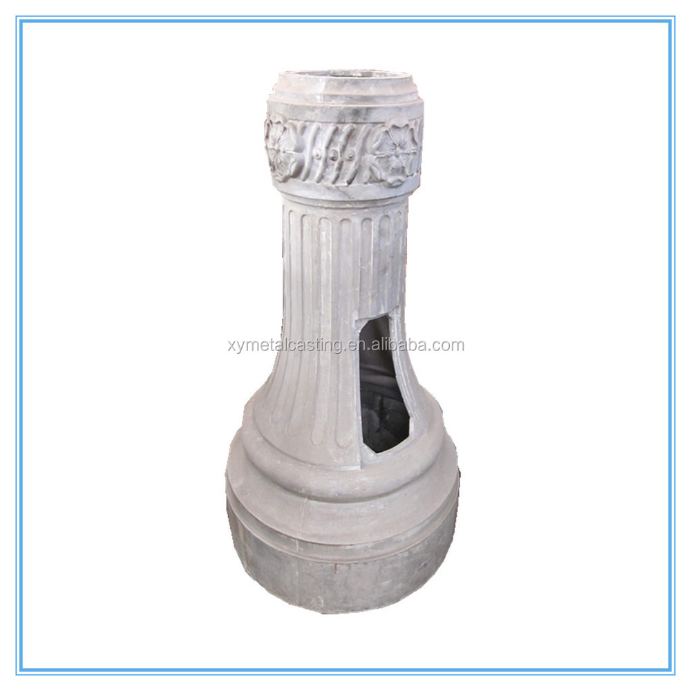 Customized Casting Aluminum Decorative Outdoor Light Pole