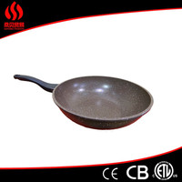 Non Stick sapphire fry pan tri-ply copper frying pan happy call double sided frying pan