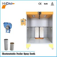High Effciency Epoxy Auto Spray Booth Paint Machine with CE