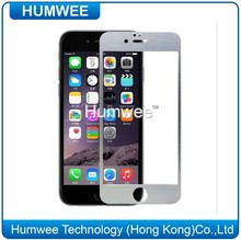 Metal Brushed Aluminum Tempered Glass Screen Protector Cover for iphone 5 5S 5C