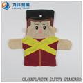 Popular felpa marionetas de mano, personalizado juguetes, CE / ASTM seguridad stardard
