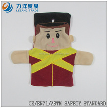popular plush hand puppets, Customised toys,CE/ASTM safety stardard