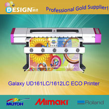 Direct manufacturer provider with competitive price Economic style Galaxy 1.6m eco solvent printer