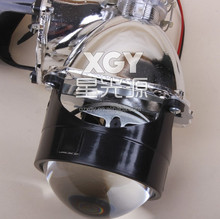 "XGY Wholesale 2.5"" HID Bi-Xenon Projector Lens Light/ Mini HID Projector Lens Kit/ HID Projector Lamp"