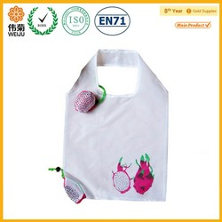 fashional designs foldable bags,fruit foldable shopping bag ,fashional shopping bag