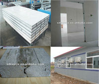 EPS Sandwich Wall Board Forming Machine / Fiber Cement Board Production Line
